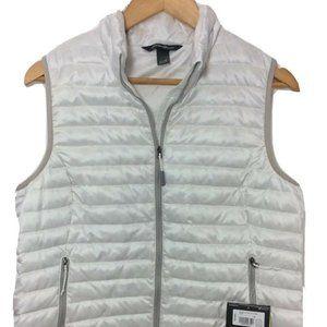 NEW Eddie Bauer Womens Microlight down vest